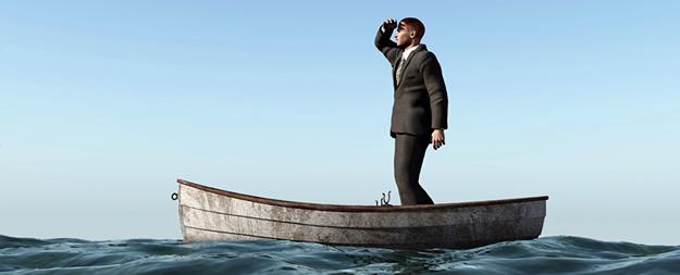 boat-rudderless